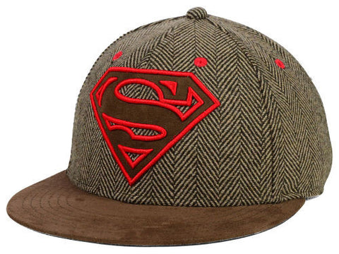 DC Comics Superman Unisex StrapBack Cap - OSFA Adjustable Hat