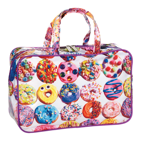 Donuts Cosmetic Bag (Large)