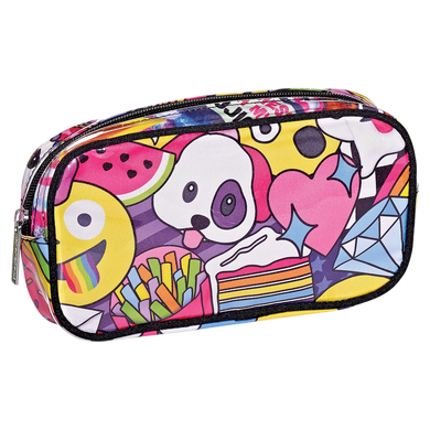 Emoji Party Cosmetic Bag (large)