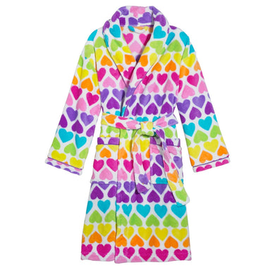 Rainbow Hearts Robe