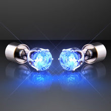 Blue Light Up Earrings