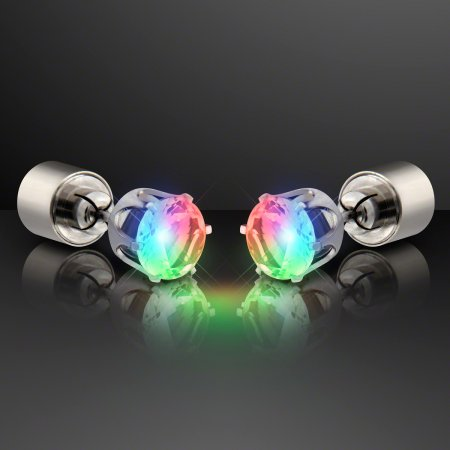 Rainbow Light Up Earrings