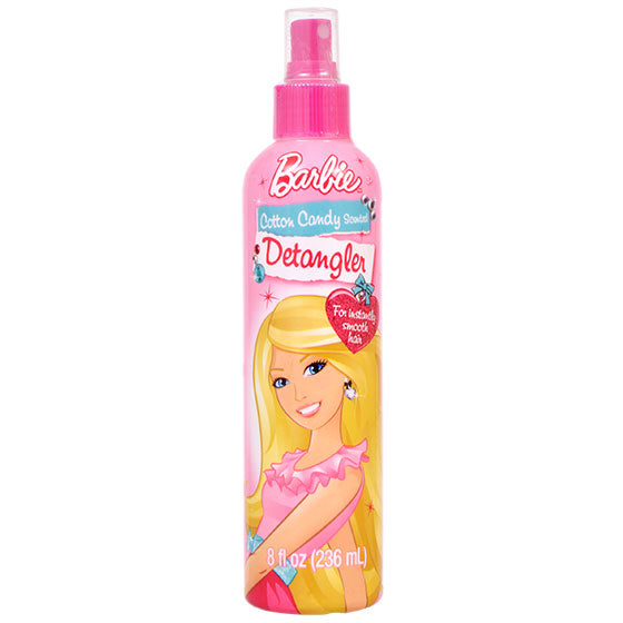 Barbie Cotton Candy Hair Detangler