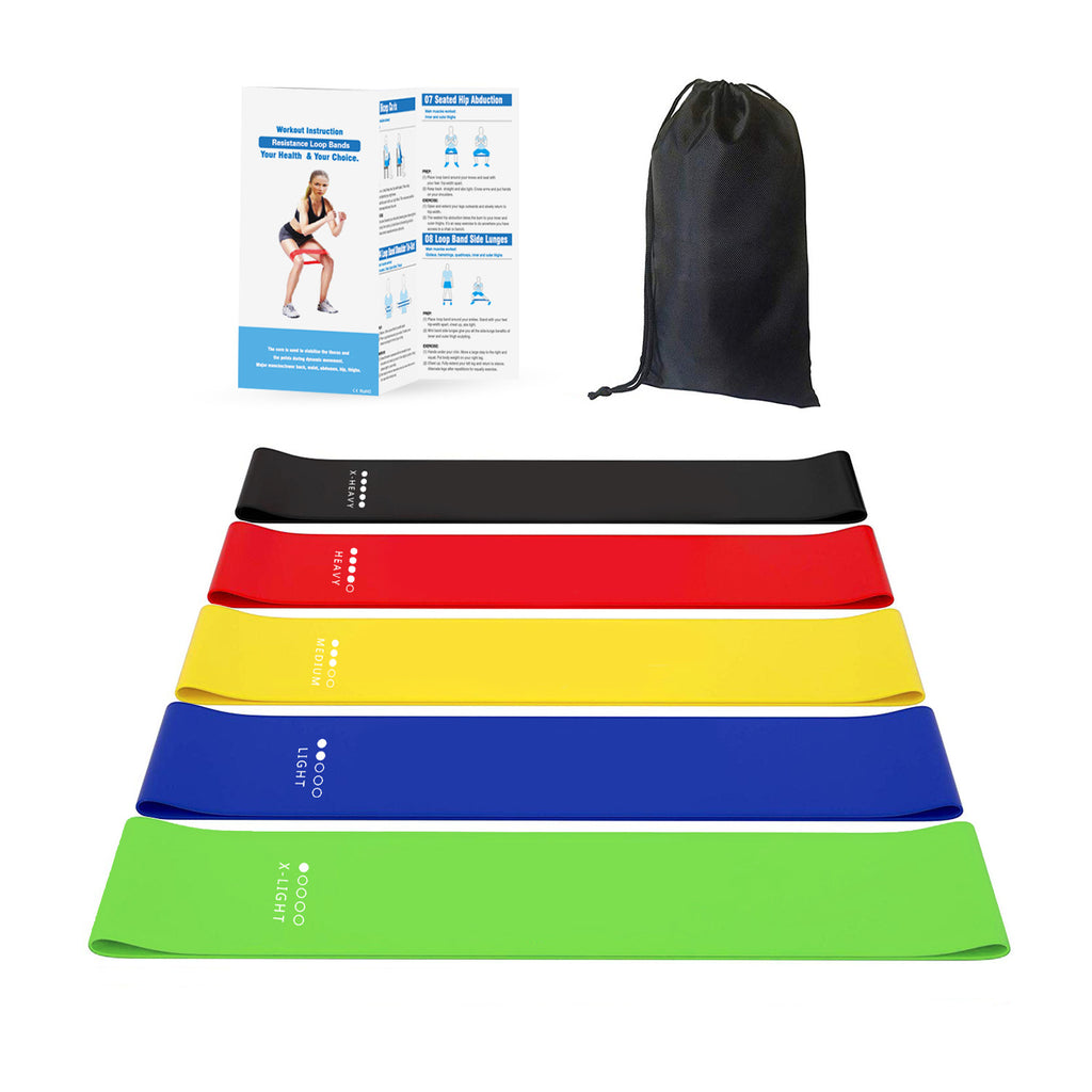 Fitness equipment exercise stretch resistance loop band