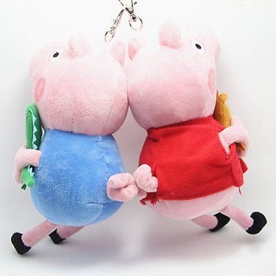 Peppa pig with key chain