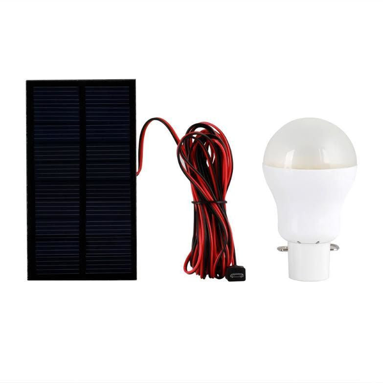 Portable Bulb Outdoor Amp Indoor Solar Powered Led Lighting