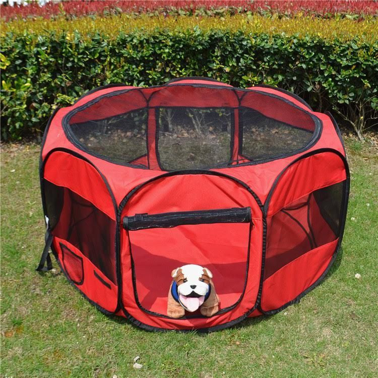 ... 45  Pet Dog Cat Playpen Tent Portable Exercise Fence Kennel Cage Folding ... & 45