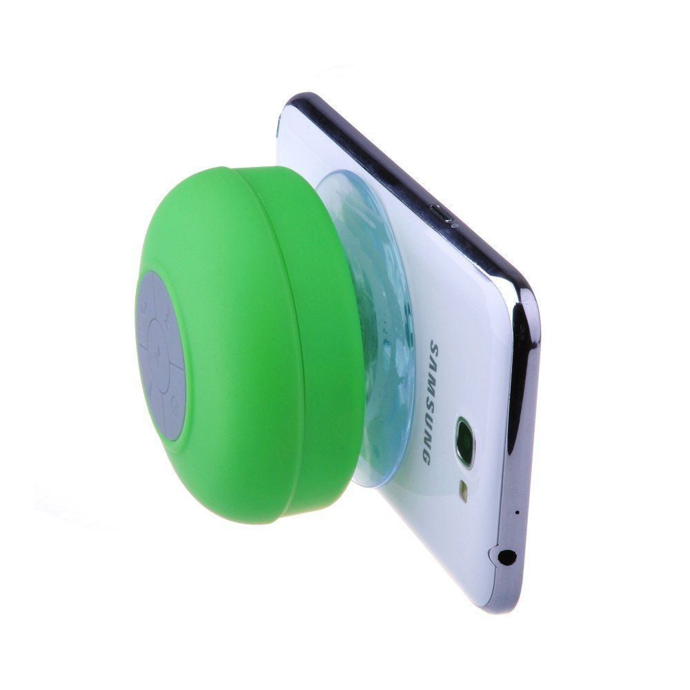 Bluetooth Waterproof Wireless Speaker Suction Shower