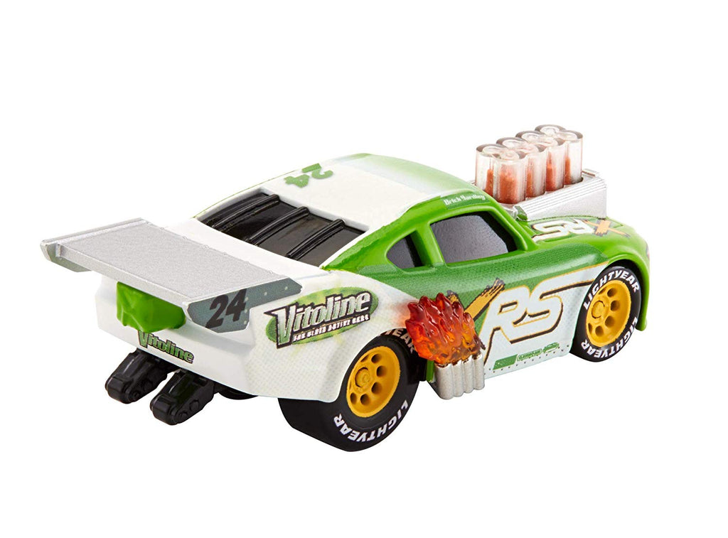 Disney Pixar Cars XRS Drag Racing Brick Yardley