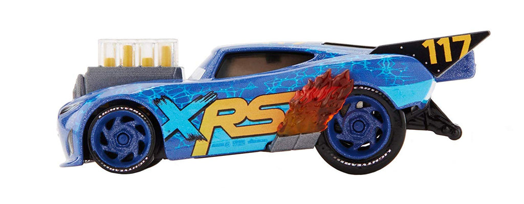 Disney Pixar Cars XRS Drag Racing Lil Torquey