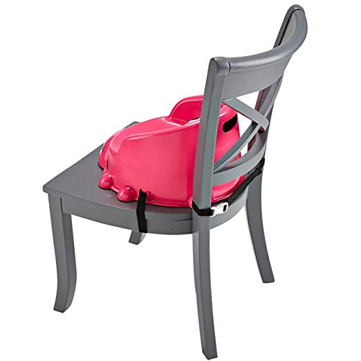 Portable Booster Seat, Pretty-in-Pink Ladybug