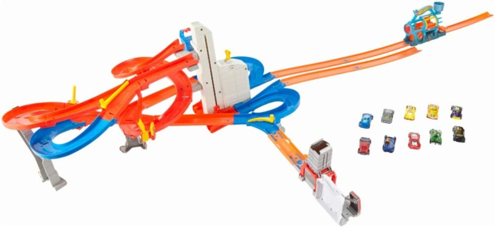 Hot Wheels Mega Metropolis Track Set