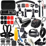 51-in-1 Action Camera Accessories Kit Case Outdoor Sports Bundle Set for Gopro Hero