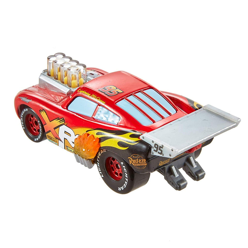 Disney Pixar Cars XRS Drag Racing Lightning McQueen