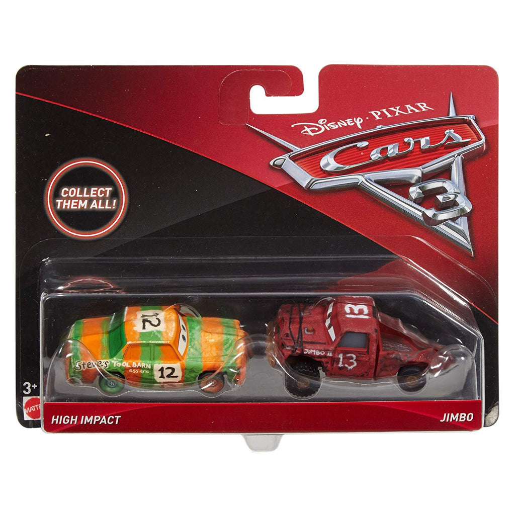 Cars 3 High Impact & Jimbo Vehicles Vehicle