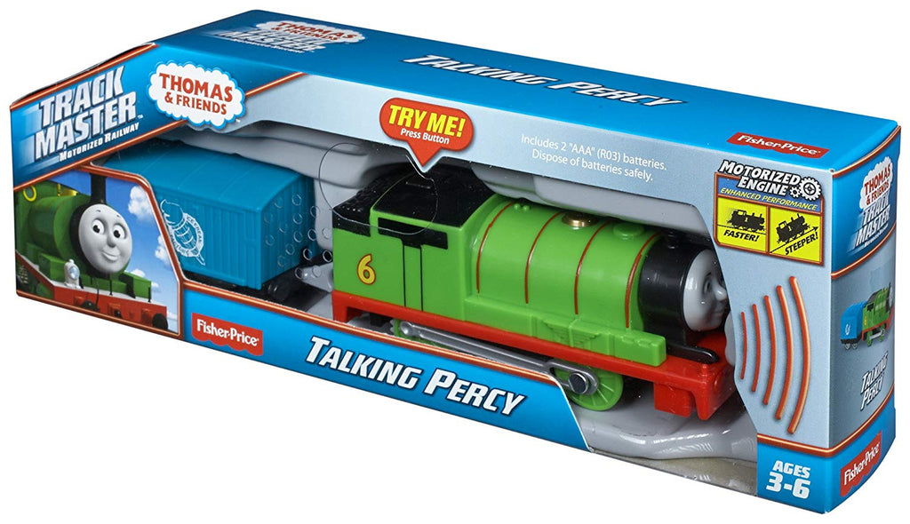 Thomas & Friends TrackMaster Talking Percy