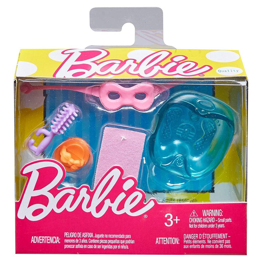 Barbie Mini Story Starter Spa Day Relaxation Play Set
