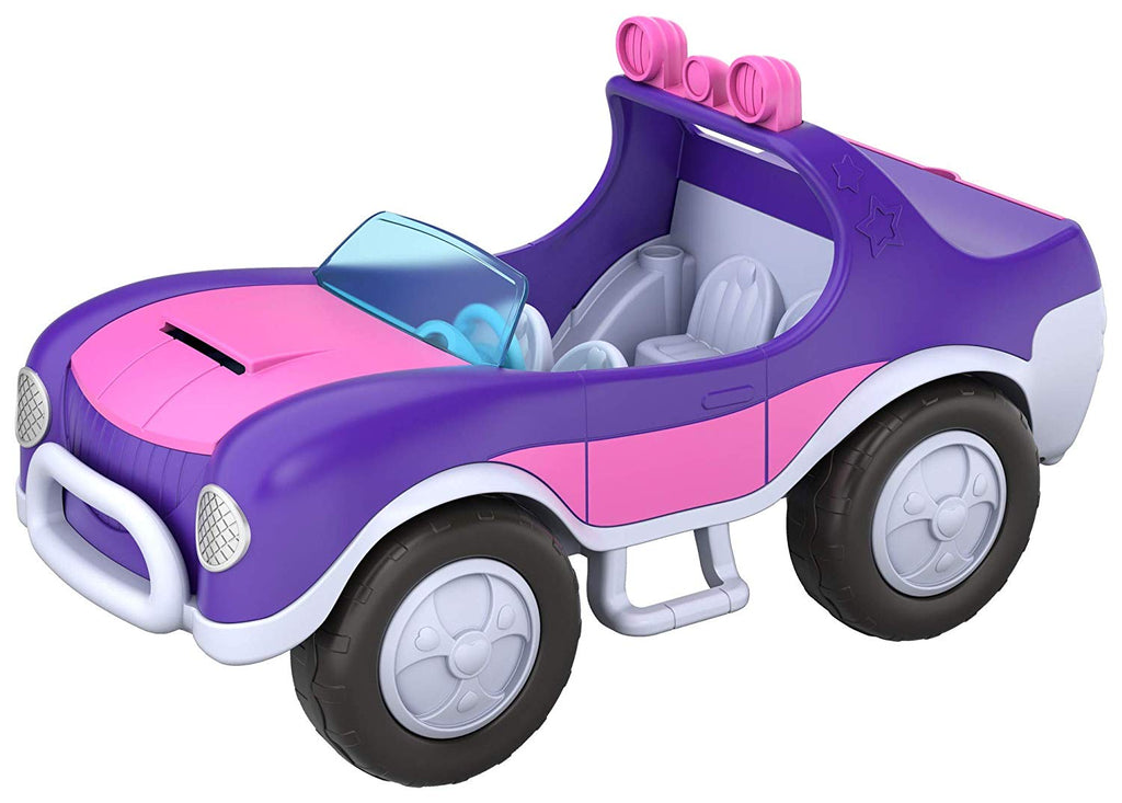 Polly Pocket Secret Utility Vehicle Equipped with Secret Surprises