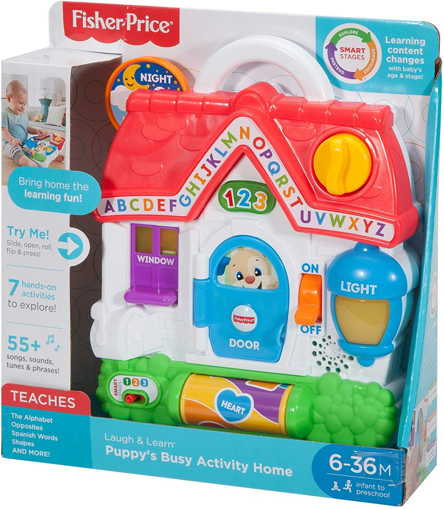 Laugh & Learn Puppy's Busy Activity Home