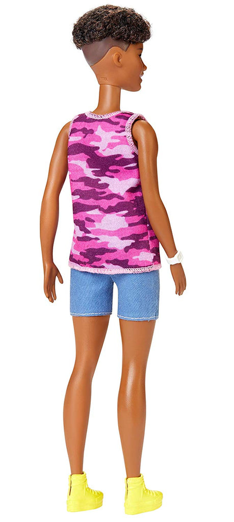 Barbie Fashionistas Doll with Short Curly Brunette Hair