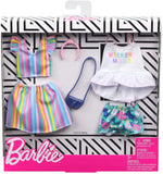 Barbie Clothes 2 Outfits and 2 Accessories for Barbie Doll