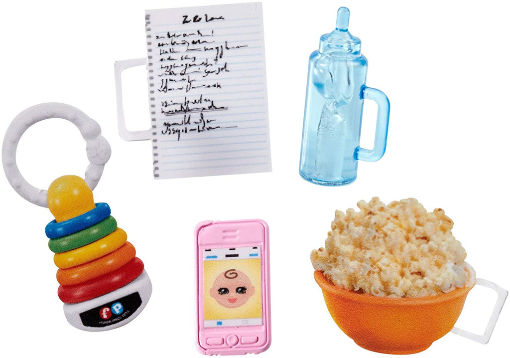 Barbie Babysitters Inc. Popcorn Set
