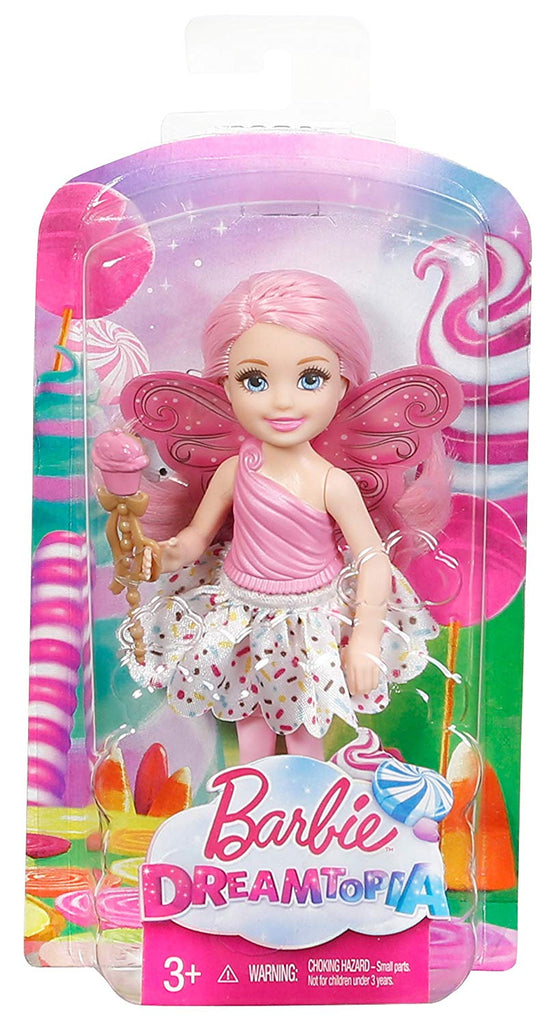 Barbie Dreamtopia Small Fairy Doll Cupcake Theme