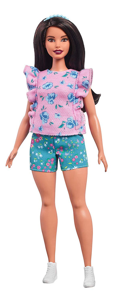 Barbie Floral Frills Fashion Doll