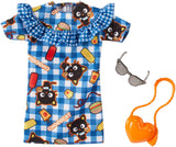 Barbie Hello Kitty Chococat Blue Plaid Dress Fashion Pack