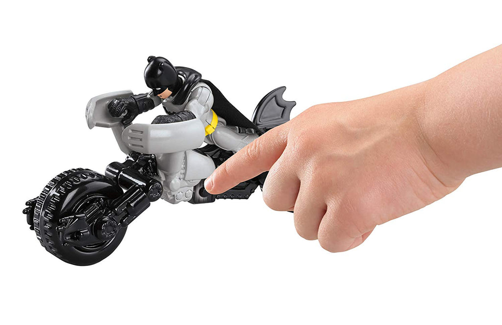 Imaginext DC Super Friends Batman Batcycle