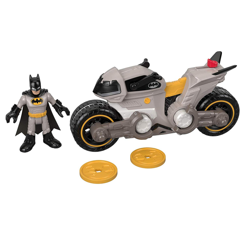 IMAGINEXT DC Super Friends Batman & Batcycle Multicolor