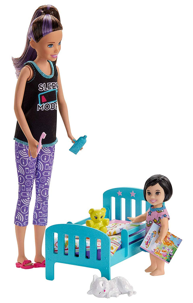 Barbie Skipper Babysitters Inc. Bedtime Playset