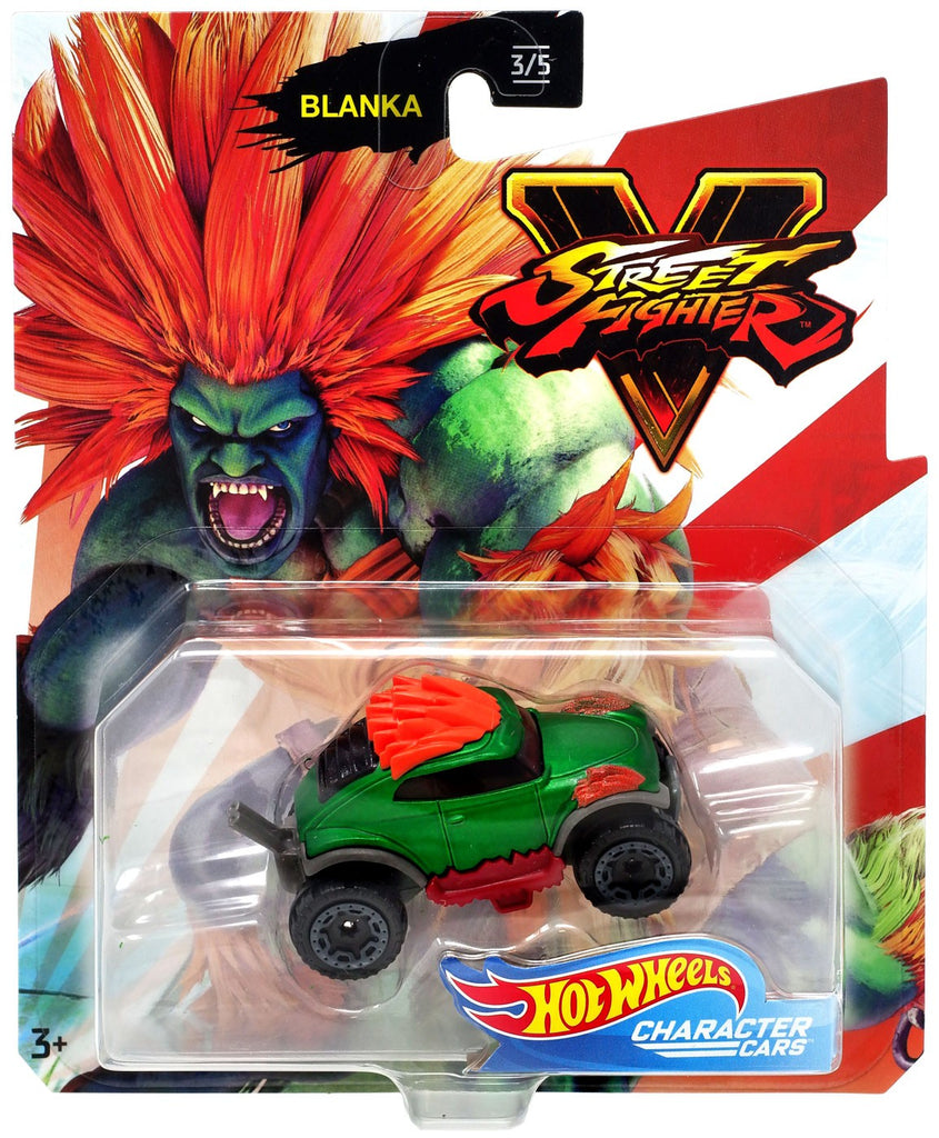 Hot Wheels Street Fighter Blanka