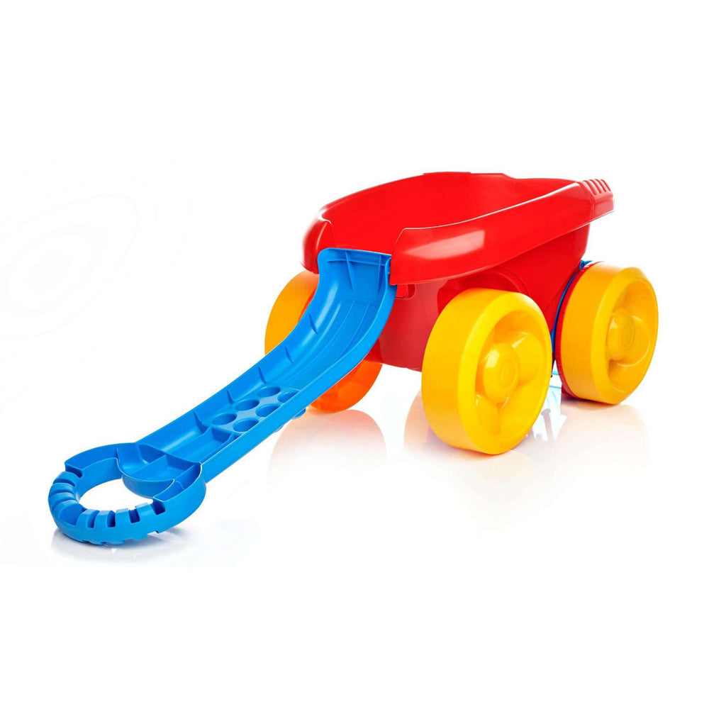 Mega Bloks First Builders Block Scooping Wagon Blue