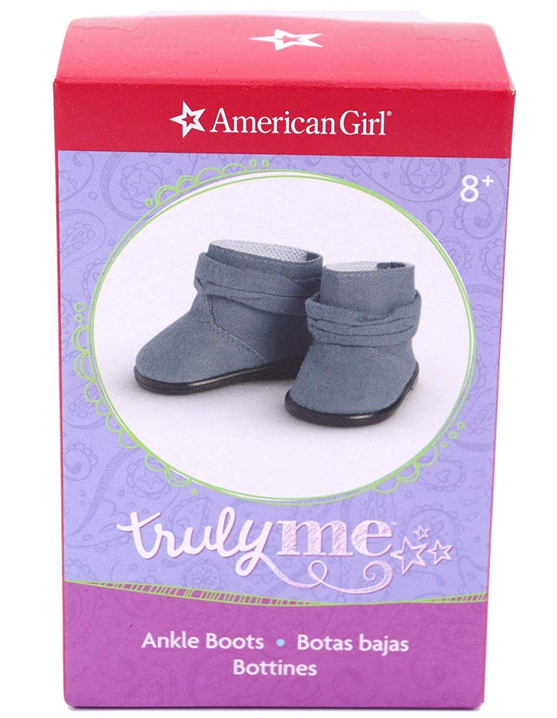 "American Girl Blue Ankle Boots for 18"" Dolls"