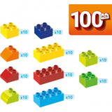 Mega Bloks Junior Builders 100 pieces Building Tub