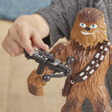 Star Wars Galactic Heroes Mega Mighties Chewbacca 10 Inch Action Figure with Bowcaster Accessory
