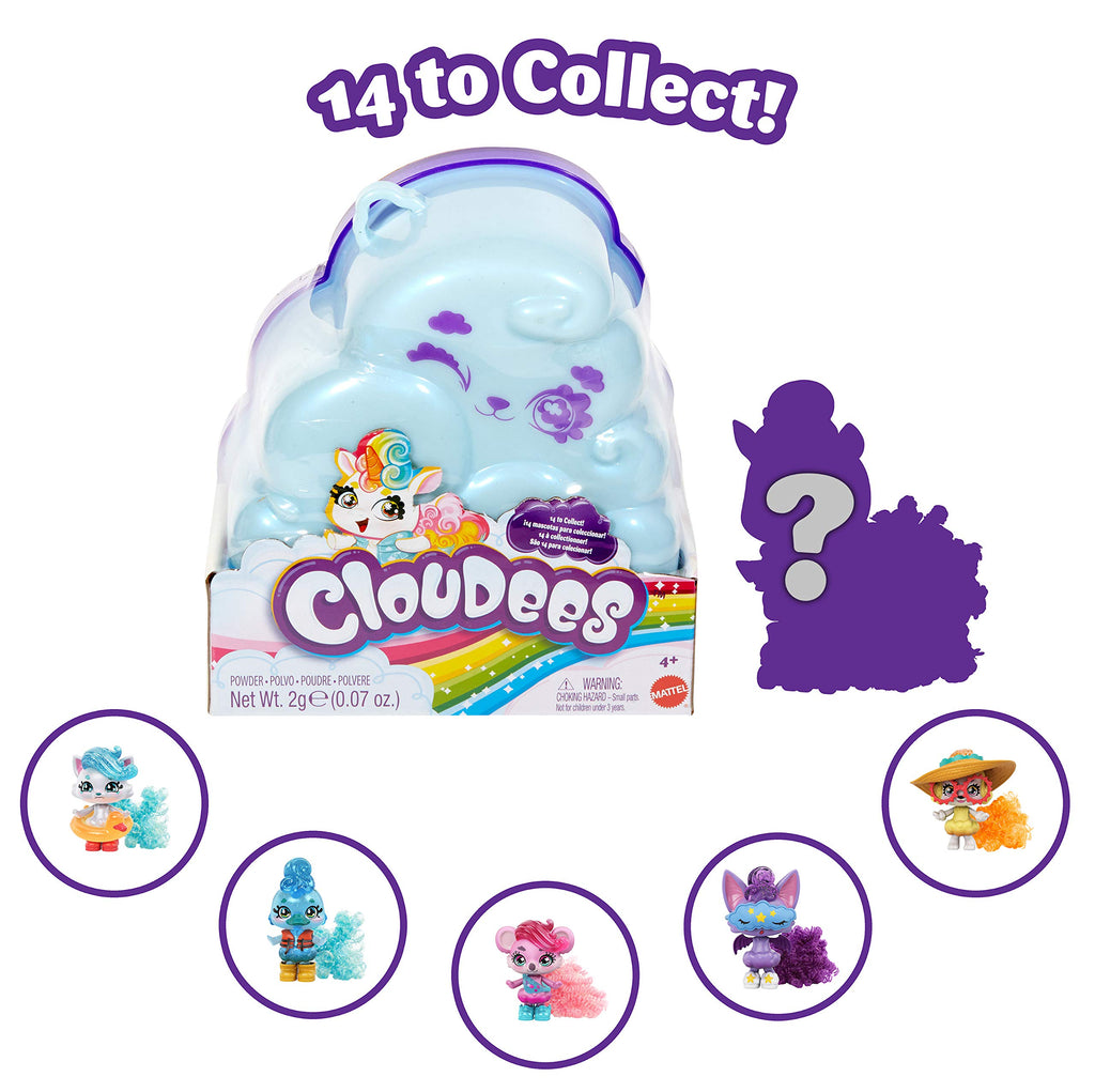 Cloudees Cloud Themed Reveal Toy With Hidden Figure