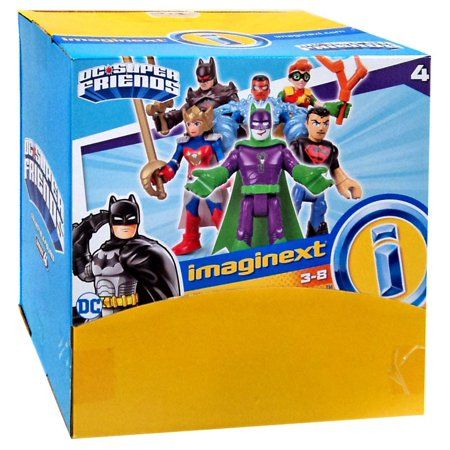 Imaginext DC Super Friends Series 4 Mystery Figure Pack Styles May Vary