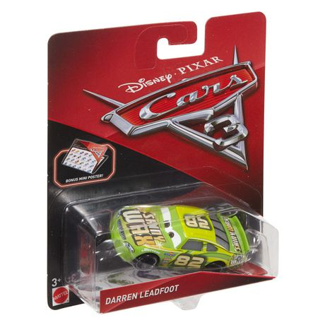 Disney Pixar Cars Darren Leadfoot