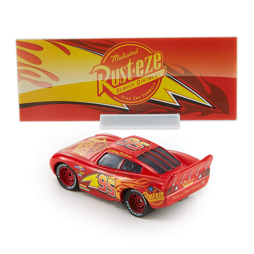 Disney Pixar Cars 3 Lighting Mcqueen Die Cast Vehicle With Accessory