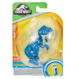 Imaginext Jurassic World Egg Raptor Blue