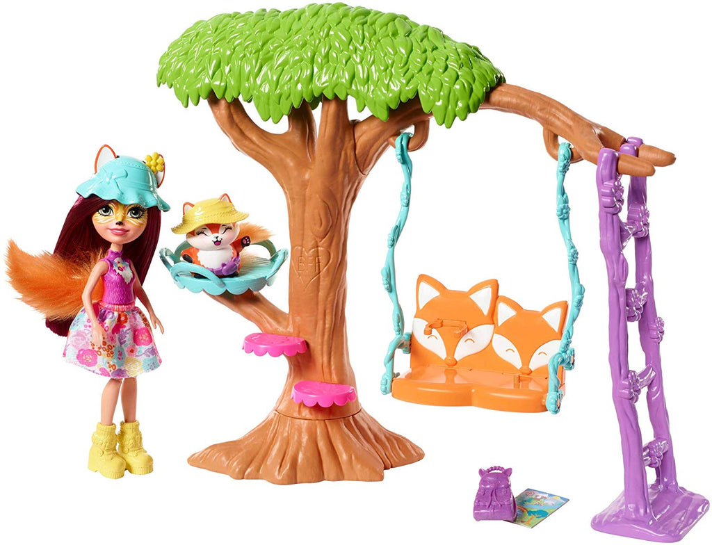 Enchantimals Doll/Pet/Room Playset 1