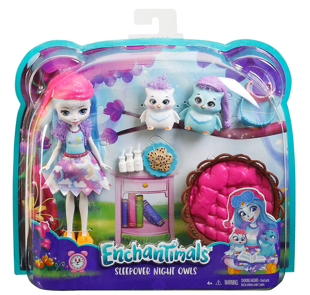 Enchantimals Sleepover Night Owl Dolls & Playset