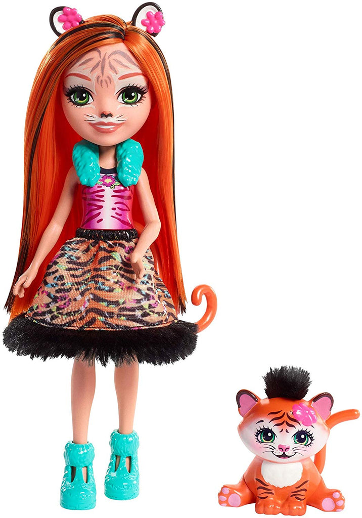 Enchantimals Tanzie Tiger Doll & Tuft Figure