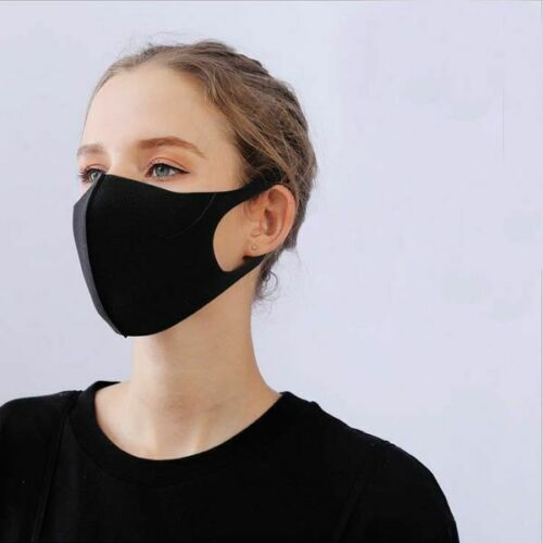 Face Mask Air Activated Carbon Filter Double Reusable Washable