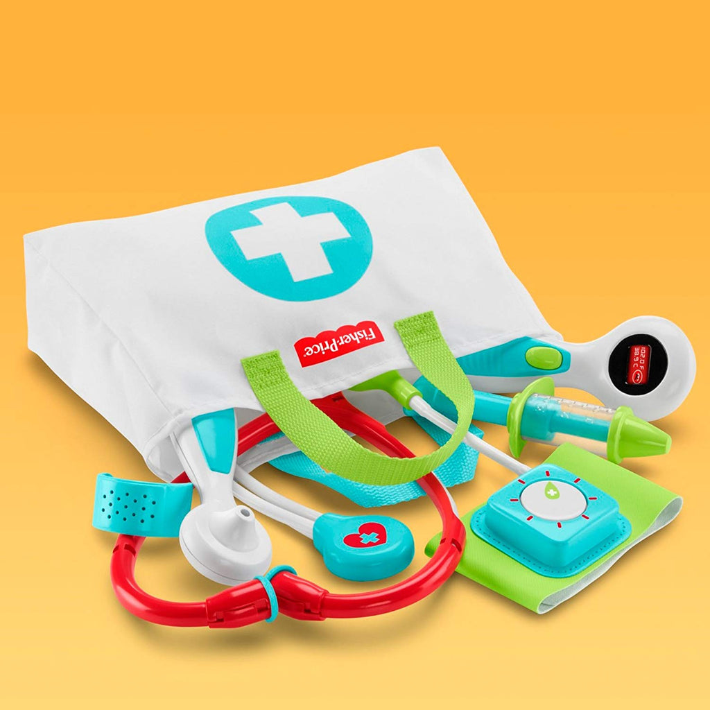 Medical Kit with Doctor Health Bag Playset