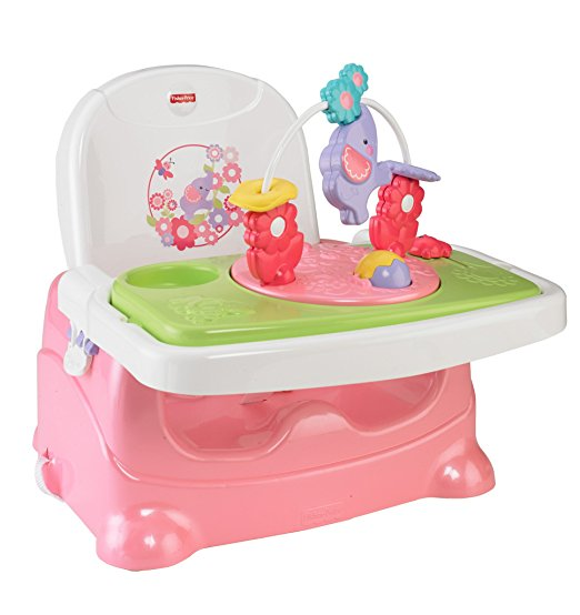Fisher-Price Pretty in Pink Booster Seat, Elephant