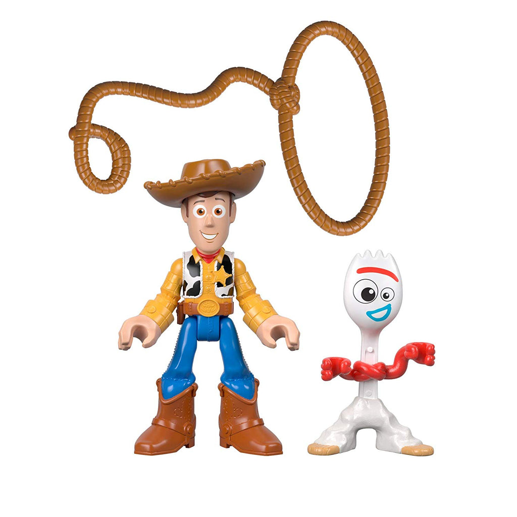 Toy Story Fisher-Price Disney Pixar 4 Woody and Forky