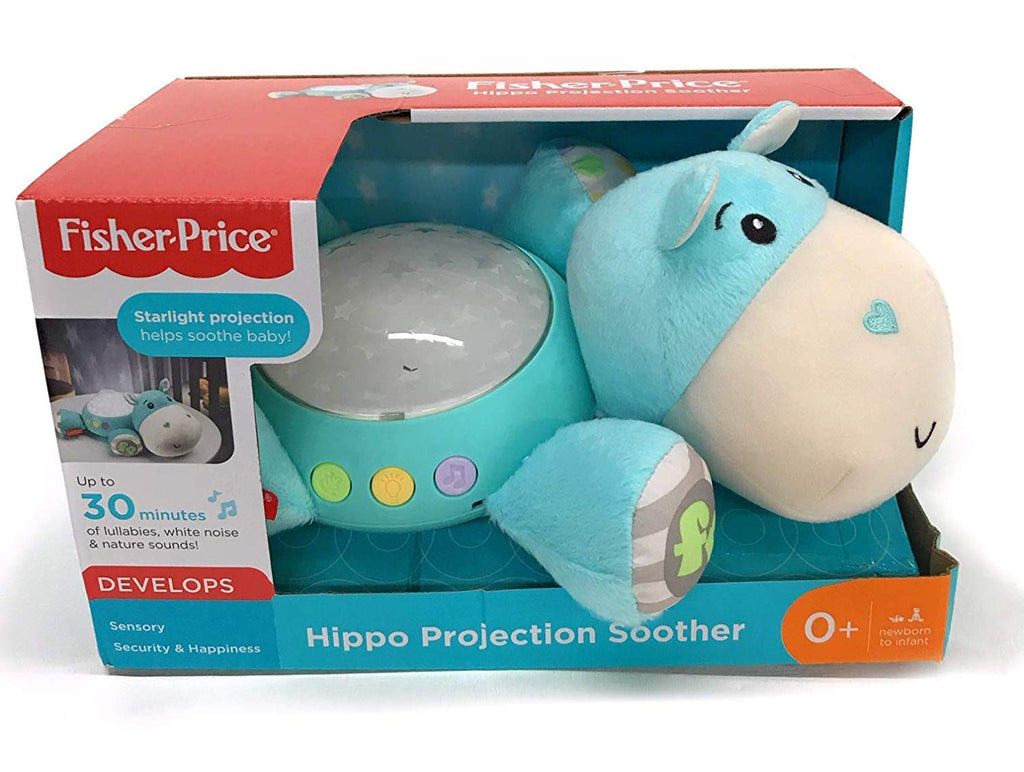 Hippo Projection Soother, Blue